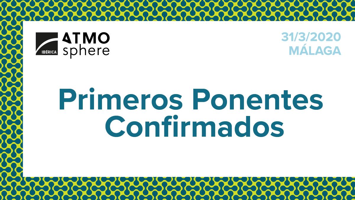 ANUNCIAMOS LOS PRIMEROS PONENTES!