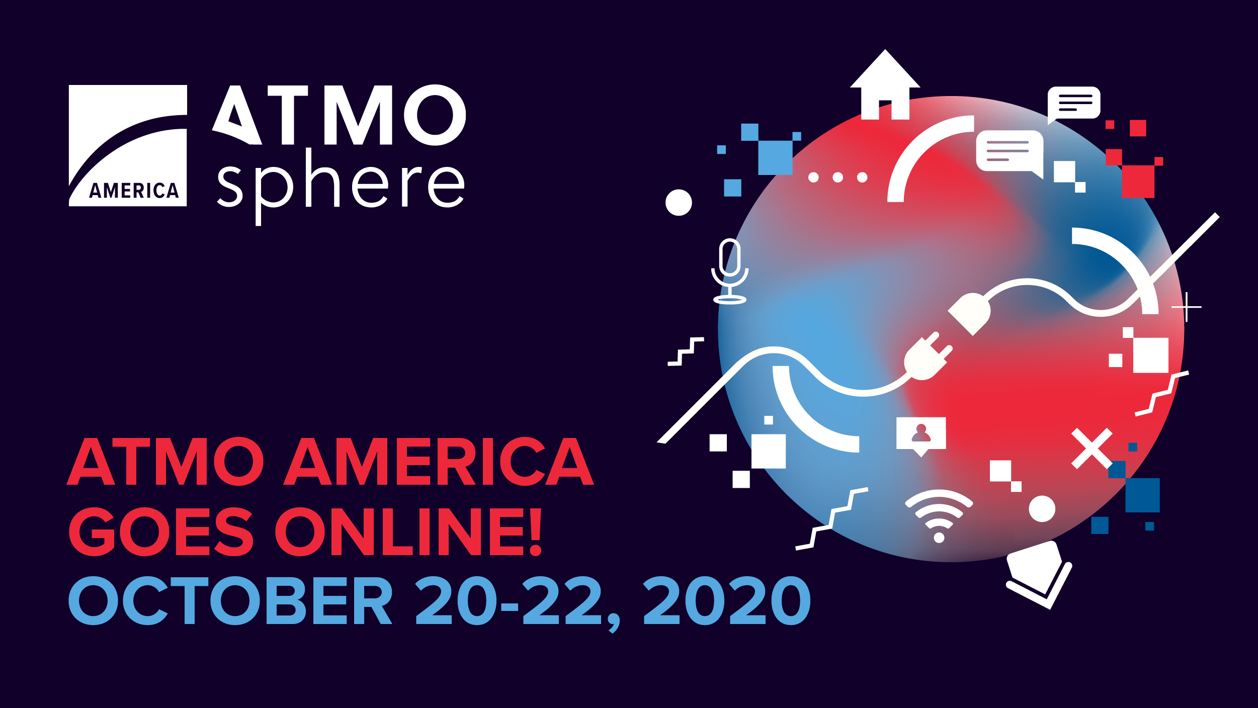 ATMO AMERICA 2020 GOES ONLINE