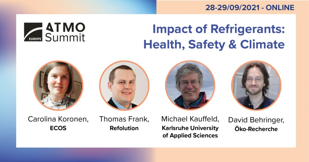 Impact of Refrigerants ATMO Europe 2021